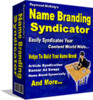 Thumbnail *NEW* Name Branding Syndicator   Resell Rights! | Personally Name Brand Yourself Worldwide