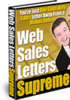 Thumbnail Web Sales Letters Supreme with Resell Rights