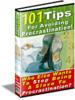 Thumbnail 101 Tips Avoid Procrastination BARGAIN HUNTER WAREHOUSE