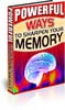 Thumbnail Powerful Ways to Sharpen Your Memory + 25 Free Reports