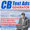 Thumbnail CB Text Ads Generator + 25 FREE Reports ( Bargain Hunter Warehouse )