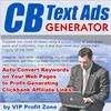 Thumbnail CB Text Ads Generator + 25 FREE Reports ( Bargain Hunter Warehouse )