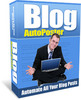 Thumbnail Blog AutoPoster + 25 FREE Reports ( Bargain Hunter Warehouse )