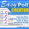 Easy Poll Creator + 25 FREE Reports
