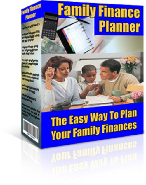 Product picture Family Finance Planner + 25 FREE Reports * ( Bargain Hunter Warehouse )