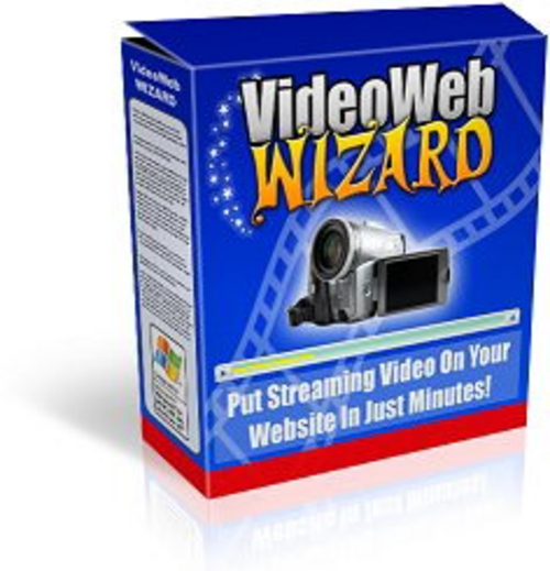 Product picture Video Web Wizard + 25 FREE Reports ( Bargain Hunter Warehouse )