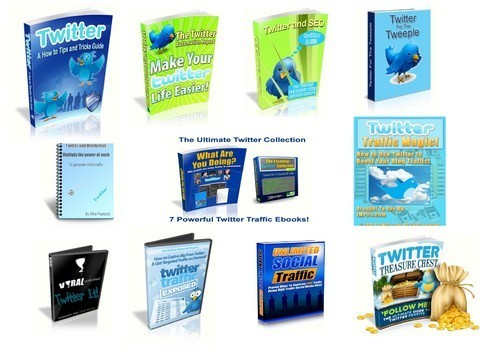 Product picture 18 Twitter Ebooks Info Bundle Ebooks Guides Plr ( Bargain Hunter Warehouse )