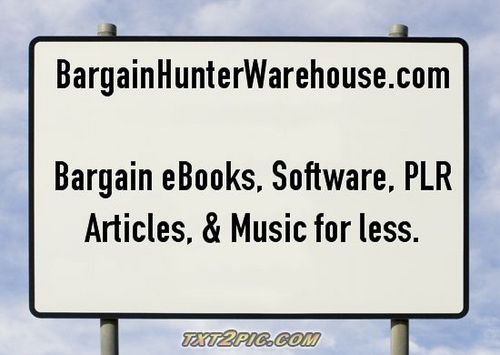 Product picture Instant Blog Cash www.bargainhunterwarehouse.com