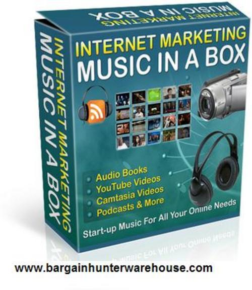Product picture Internet Marketing Music Clips Vol. 1 w/Resell Rights