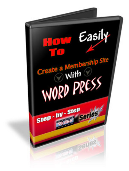 Product picture How to Easily Create a Membership Site with Word Press