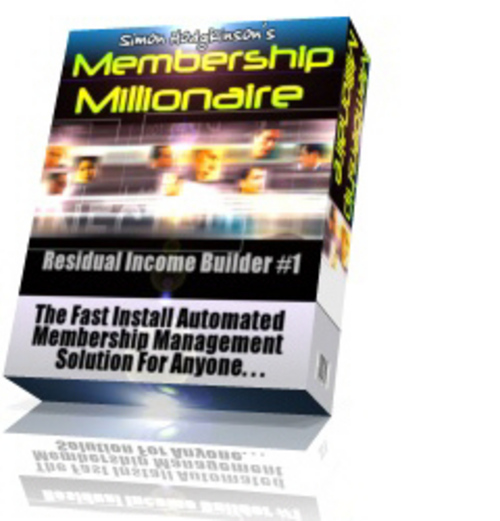 Product picture Membership Millionaire - How to Make Online Profits 24/7
