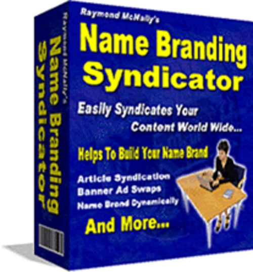 Product picture *NEW* Name Branding Syndicator   Resell Rights! | Personally Name Brand Yourself Worldwide