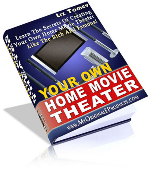 Product picture *NEW* Your Own Home Movie Theater   Learn The Secrets Of Creating Your Own Home Movie Theater Like The Rich And Famous!   Resale Rights ( Bargain Hunter Warehouse )