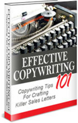 Product picture Effective Copywriting 101 - Master Resale Rights