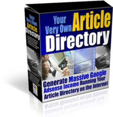 Product picture Create Your Very Own Article Directory