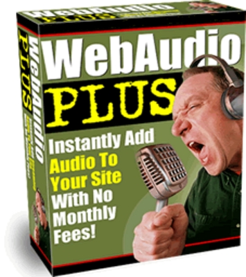 Product picture WebAudio Plus with Master Resell Rights