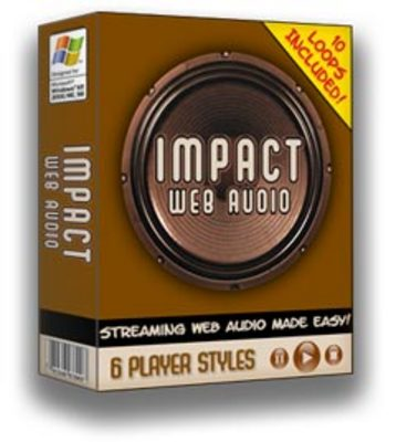Product picture Impact Web Audio + 25 Free Reports  BARGAIN HUNTER WAREHOUSE