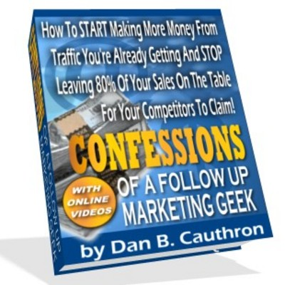Product picture Confessions of a Follow Up Marketing Geek