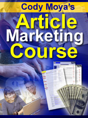 Product picture Article Marketing Course + 10 FREE Bonus Reports