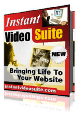 Product picture Instant Video Suite: Automatically create embedded web pages