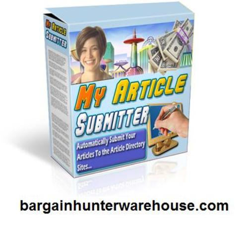 Product picture My Article Submitter - Fast EZ Article Distribution = more $