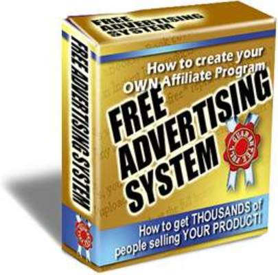 Product picture Free Advertising System Get Others To Sell Your Product FREE