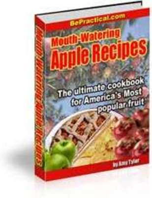 Product picture Mouth-Watering Apple Recipe Cookbook