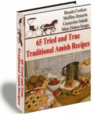 Product picture 65 Traditional Amish Recipes BARGAIN HUNTER WAREHOUSE
