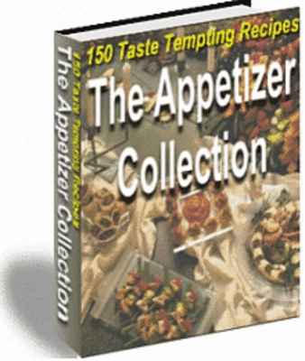 Product picture The Appetizer Collection 150 taste tempting recipes