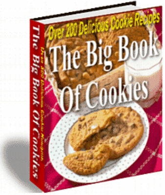 Product picture The Big Book of Cookies Great for holiday treats or any occassion