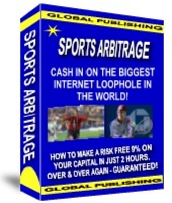 Product picture CASH IN ON SPORTS ARBITRAGE
