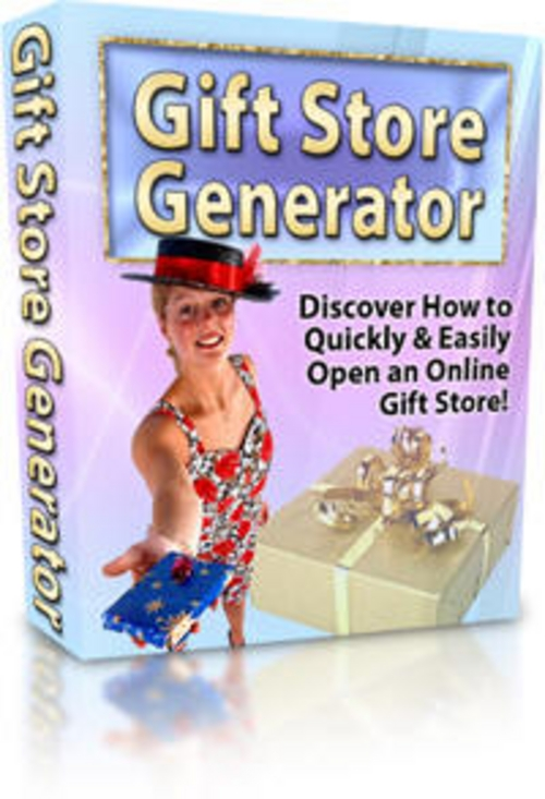 Product picture Gift Store Generator   Quickly Open An Online Gift Store + 25 FREE Reports ( Bargain Hunter Warehouse )