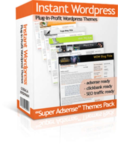 Product picture Adsense Wordpress Theme Designs   30 Instant Wordpress Themes + FREE Reports ( Bargain Hunter Warehouse )