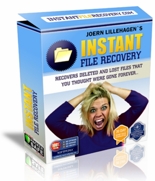 Product picture Instant File Recovery + 25 FREE Reports ( Bargain Hunter Warehouse )
