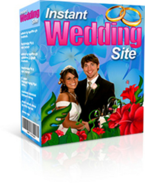 Product picture Instant Wedding Site + 25 FREE Reports ( Bargain Hunter Warehouse )