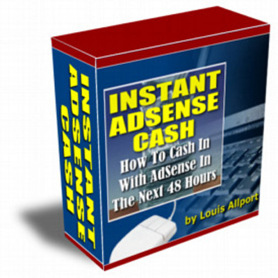 Product picture Instant Adsense Cash + RESELL RIGHTS BargainHunterWarehouse