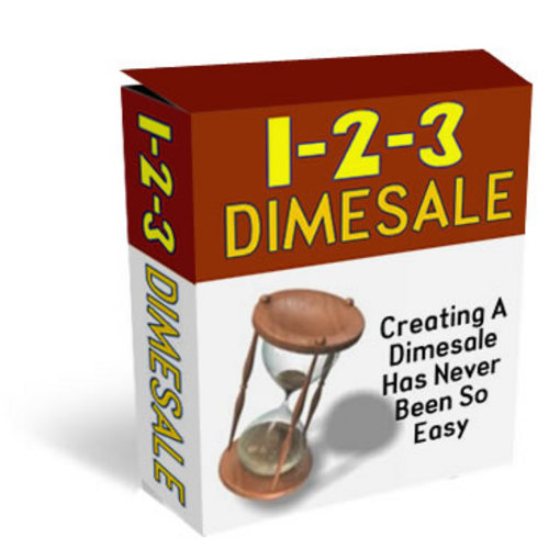 Product picture *NEW!* 1 2 3 Dimesale Generator With MASTER RESALE RIGHTS | Send Customers Into A Buying Frenzy